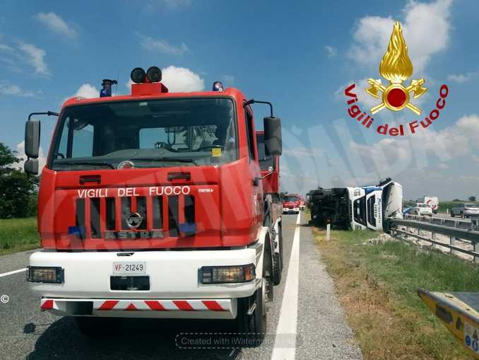 Marene camion autostrada 1