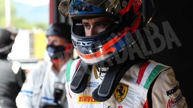 Matteo Greco sale subito sul podio al debutto nel Gran turismo 1