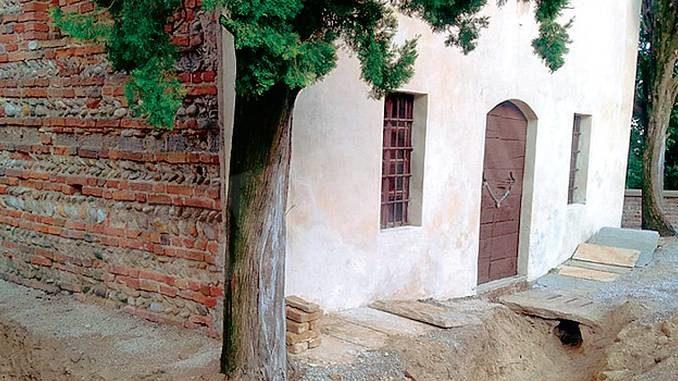 A Monticello procedono i restauri dell'antica cappella di San Ponzio 1
