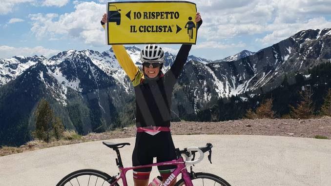 Il giro del Piemonte di Paola Gianotti per la sicurezza dei ciclisti 4