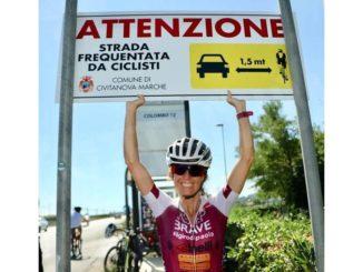 Il giro del Piemonte di Paola Gianotti per la sicurezza dei ciclisti 5