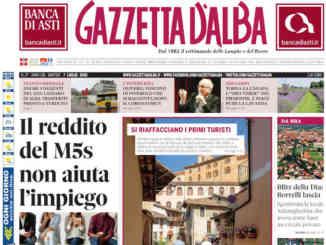 La copertina di Gazzetta d'Alba in edicola martedì 14 luglio