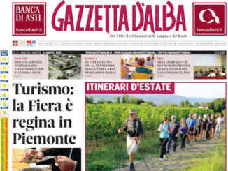 La copertina di Gazzetta d'Alba in edicola sabato 1° agosto