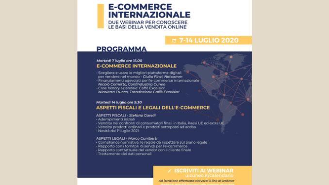 Alla scoperta della vendita on-line: Confindustria Cuneo propone una serie di webinar dedicati all'e-commerce internazionale
