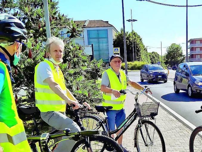 assessore Reggio in bici