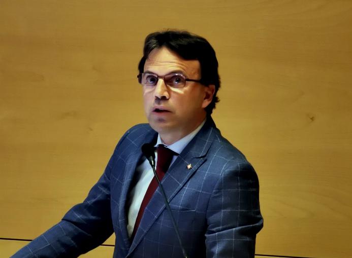 assessore alle attività produttive Andrea Tronzano
