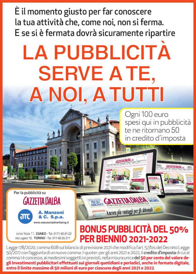 Pubblicità sui giornali: credito d'imposta al 50% anche per biennio 2021-2022