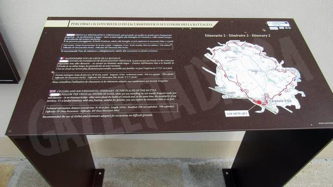 Ceresole, nuovo tassello per il progetto Succes: installata la cartellonistica