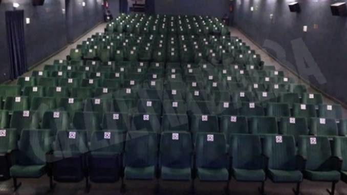 Ad Asti ha riaperto il cinema Lumière: necessario il distanziamento sociale