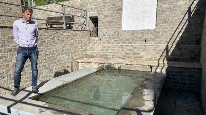 Niella Belbo: Il lavatoio risalente alla fine dell'800 è stato rimesso a posto 1