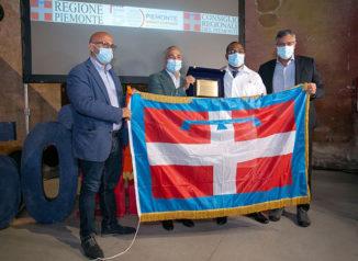 """Consegna dell'onorificenza del Consiglio regionale del Piemonte per meriti civili alla """"Brigada Henry reeve di Cuba"""" 2"""