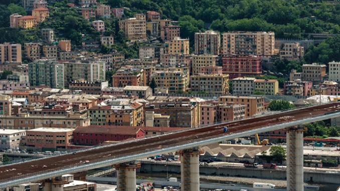 Il nuovo Ponte di Genova è pronto: è cominciato il collaudo statico