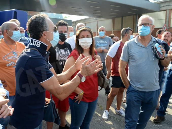 protesta Miroglio Govone