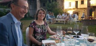 Grande successo per la serata di vino, salute, buon cibo e divertissement