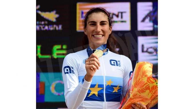 La cuneese Elisa Balsamo è campionessa d'Europa Under 23 1