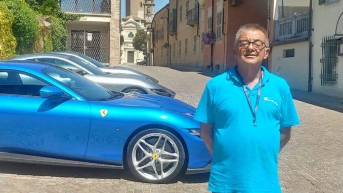 Barbaresco meta di un tour del gruppo Ferrari di Milano