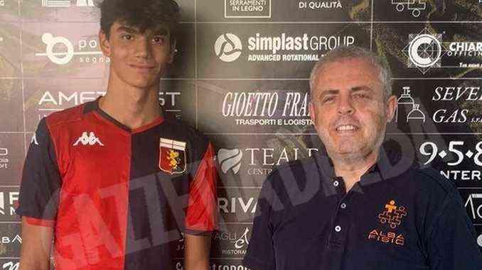 Calcio: Giovanni Imberti, classe 2005, passa dall'Area calcio al Genoa