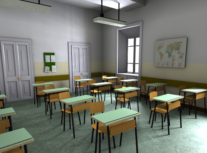 aula-scolastica-vuota