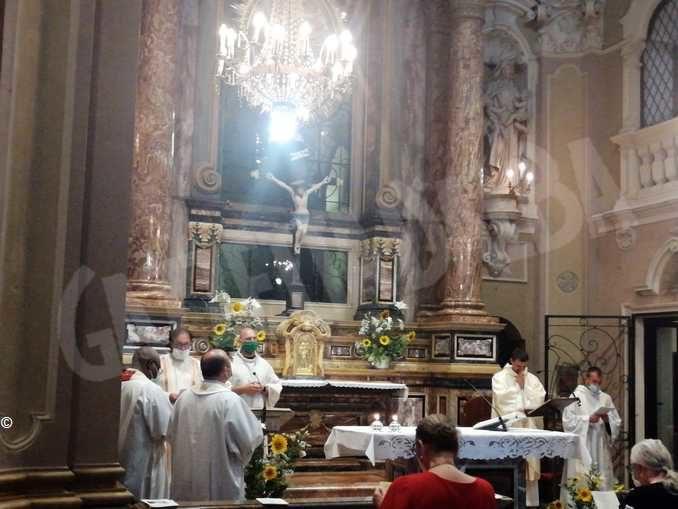 Grande partecipazione alla festa di santa Chiara alle Clarisse di Bra