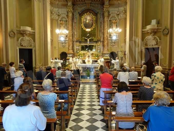 Grande partecipazione alla festa di santa Chiara alle Clarisse di Bra 2