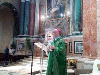 È in corso la novena alla Madonna dei fiori, presenti tanti fedeli