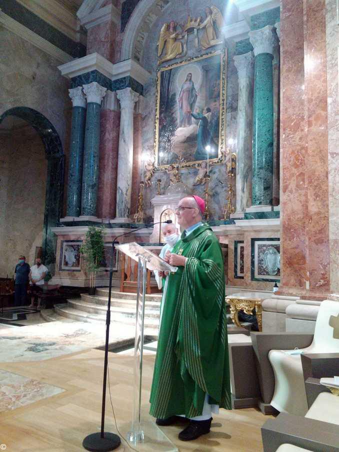 bra novena monsignor Marco Prastaro