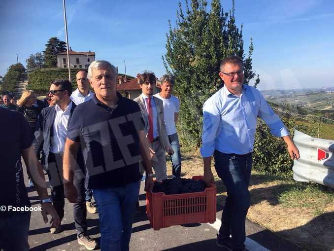 mario sandri vendemmia Antonio Tajani