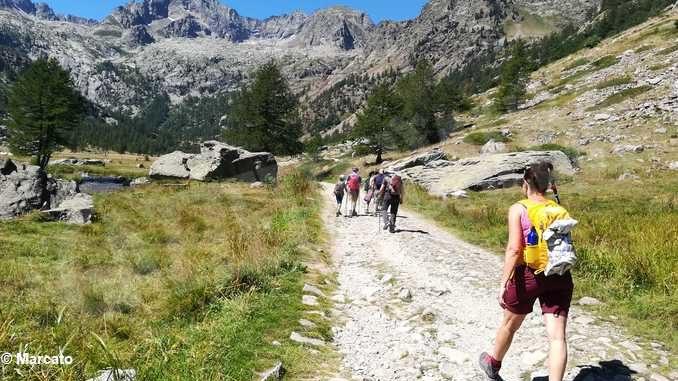 Laghi di Roburent e monte Scaletta con il Cai di Asti