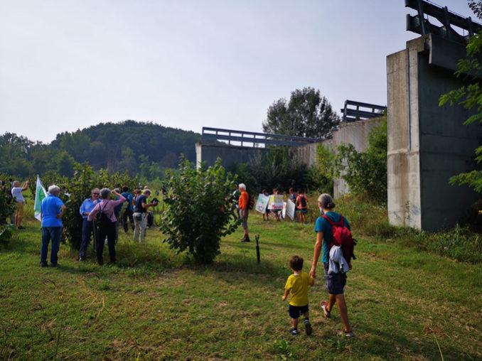 Camminata lungo la via Gavigena da Borgata Molino al moncone autostradale di Cherasco 6