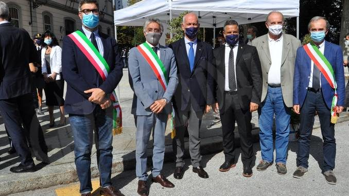 Il sindaco Bo a Cuneo per rendere omaggio ai poliziotti Usmiani e Zucco