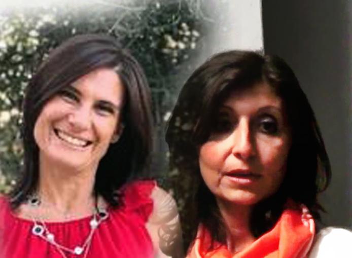 Claudia Molino e Irene Mazzini