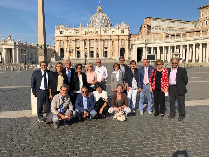 Comunità Laudato si', ricevuti papa Francesco