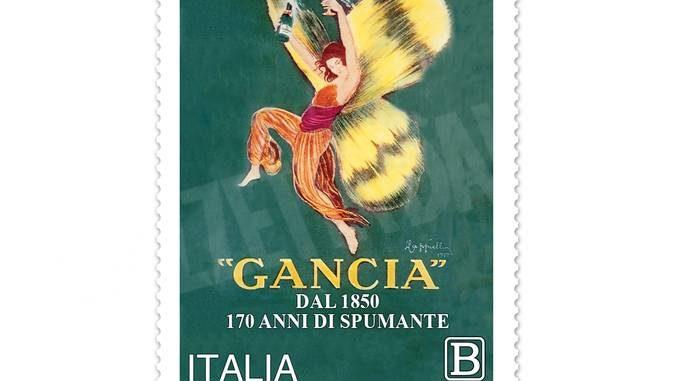 Le Poste dedicano un francobollo all'azienda vinicola Gancia di Canelli