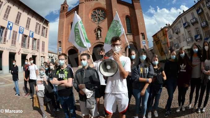 Fridays for future Alba annuncia una manifestazione per venerdì 9 ottobre