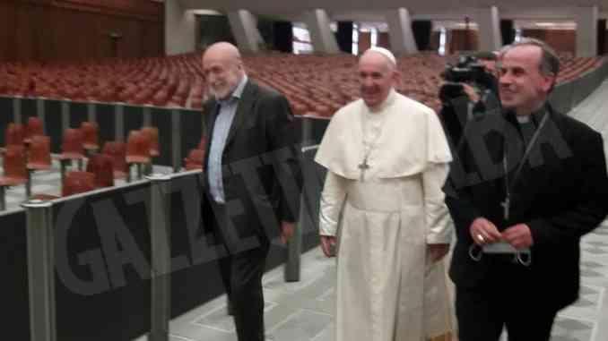 La Comunità Laudato si' in udienza da papa Francesco