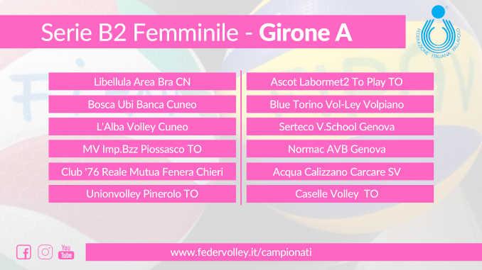 Gironi Serie B2F