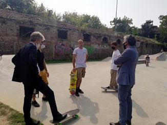 Incontro allo skatepark dell'H-Zone di Aba, Carlo Bo: «per la recinzione potremo sbloccare i fondi necessari già con la prossima variazione di bilancio» 2