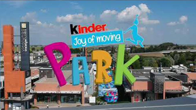 Nasce Kinder Joy of moving Park, avvicina bambini allo sport