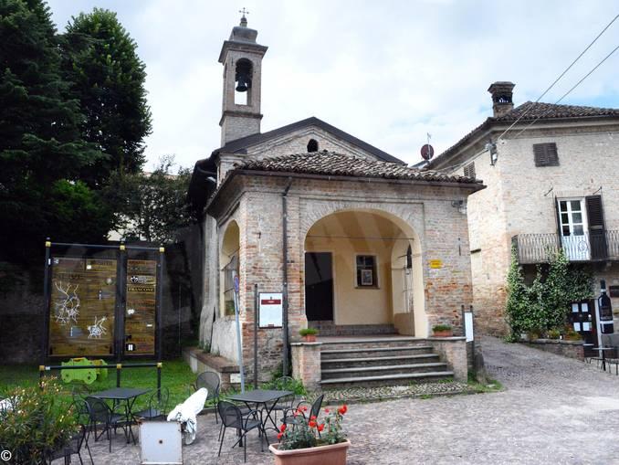 Neive chiesetta san Rocco