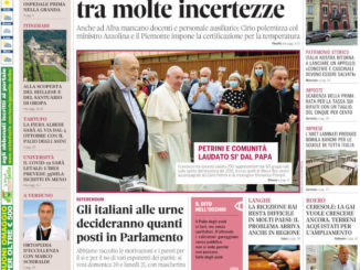 La copertina di Gazzetta d'Alba in edicola martedì 15 settembre