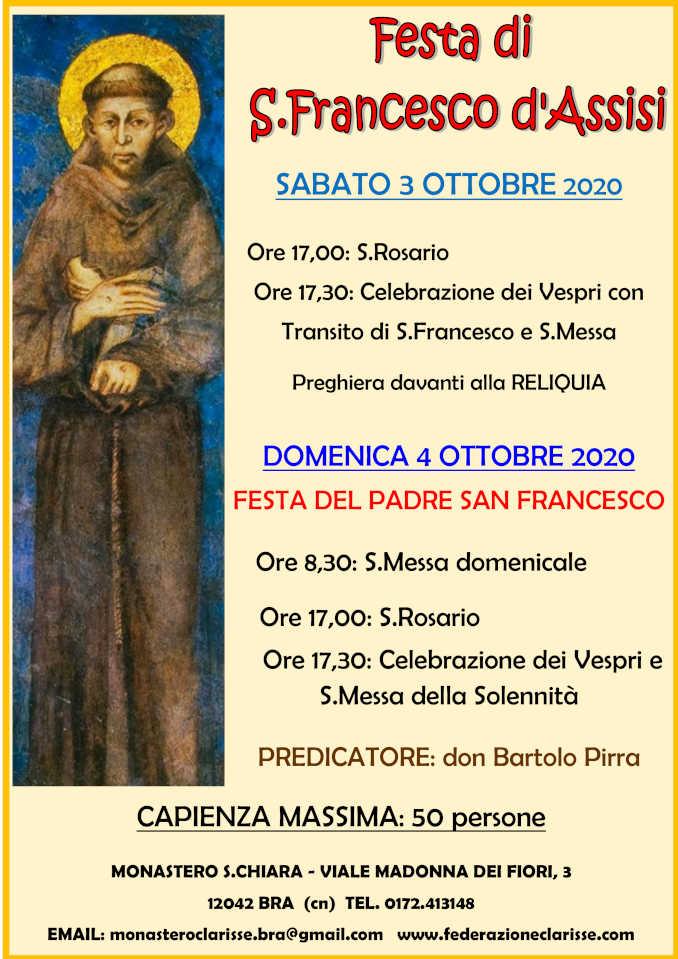 San Francesco locandina