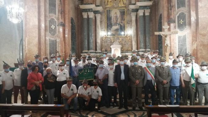 Messa con gli Alpini al Santuario della Madonna dei Fiori di Bra