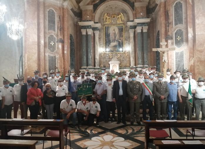 Santuario Madonna dei Fiori Bra Messa con gli Alpini
