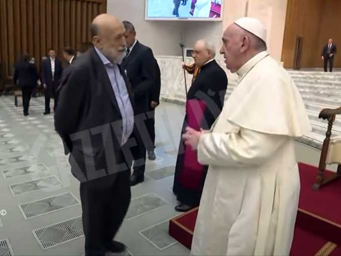 carlo petrini papa francesco