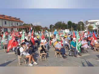 Cgil Cisl e Uil insieme in piazza a Cuneo, per una giornata di mobilitazione unitaria
