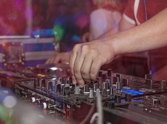 discoteca mixer