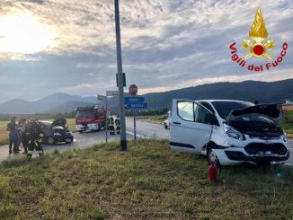 Scontro tra due auto tra Busca e Villafalletto, non gravi le persone coinvolte