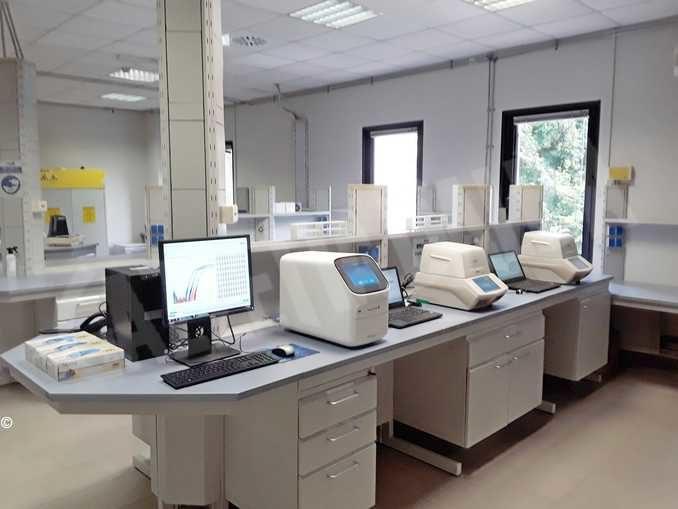 Apre a La Loggia il nuovo laboratorio per analizzare i tamponi Covid