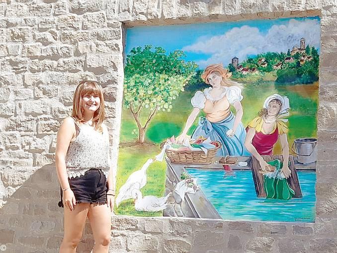 murale lavatoio niella