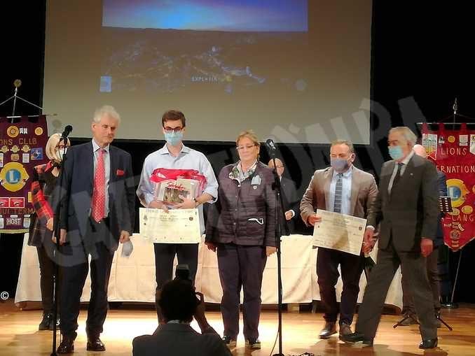 Vilfredo Rabino neodiplomato al classico Govone vince il premio letterario Lions